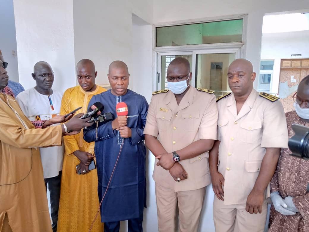 Riposte contre le Covid-19 / Kédougou: Mamadou Saliou Sow, Secrétaire d'Etat auprès du Ministre de la Justice, offre 20 millions de FCfa à sa localité