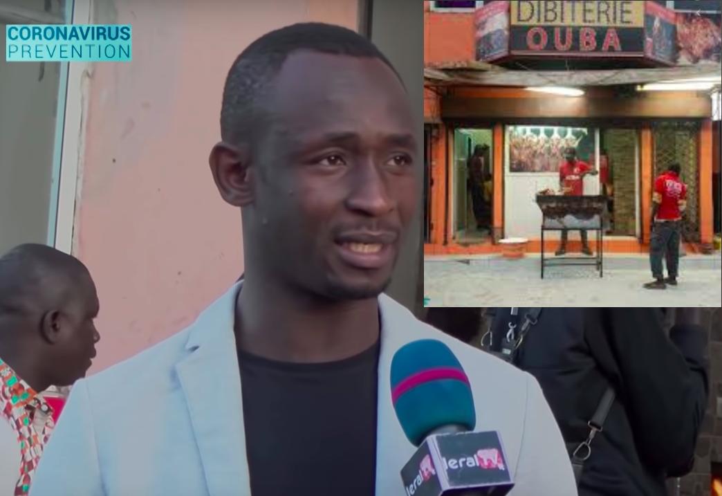 VIDEO / COUVRE-FEU: Le Restaurant chez Ouba perd des millions par jour !
