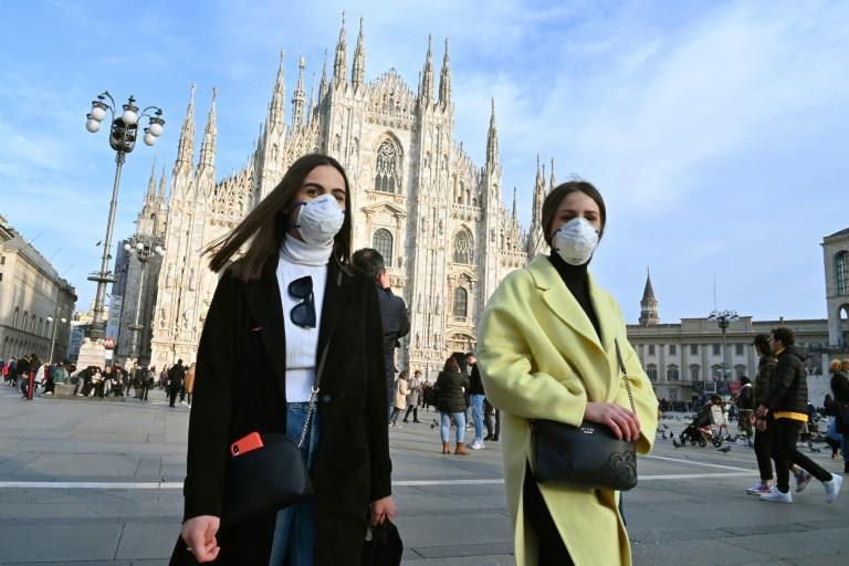 Coronavirus: En Italie, le nombre de malades du coronavirus baisse pour la première fois