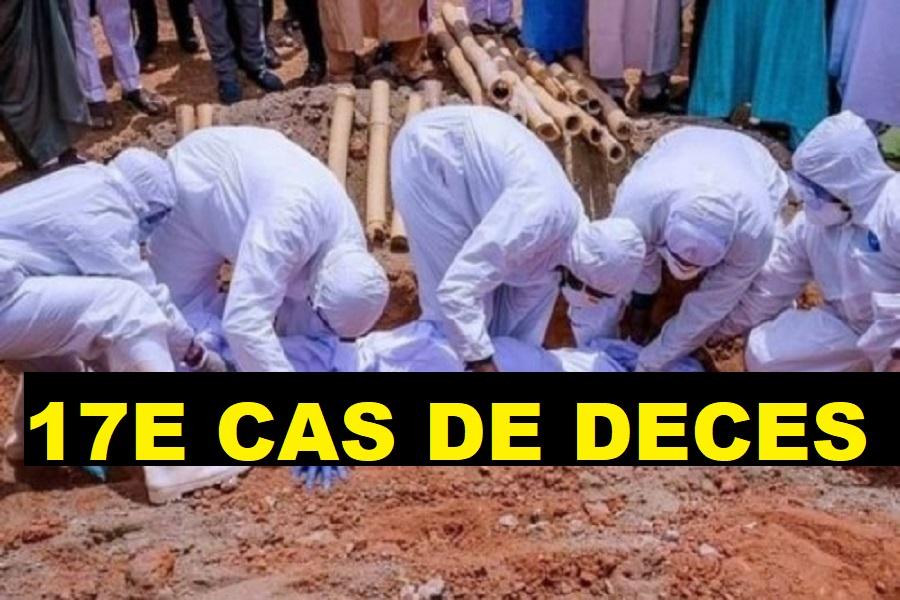 Covid-19: 17e cas de décès enregistré au Sénégal