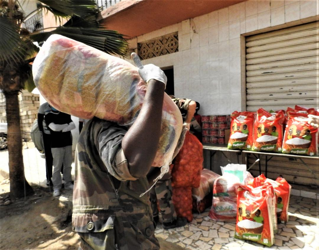 Riposte contre le Covid-19 / Pour un nouveau don au profit des enfants de « Unies Vers'Elle »: Les Eléments français au Sénégal reviennent à Pikine