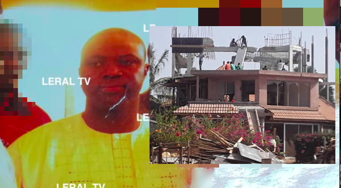 Forcing: Abdoulaye Sylla Ecotra porte-presse