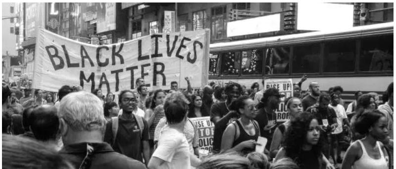 Manifestation Black Lives Matter, en juillet 2016 à New York. (Photo d'illustration.) (Nicole Baster/Unsplash)