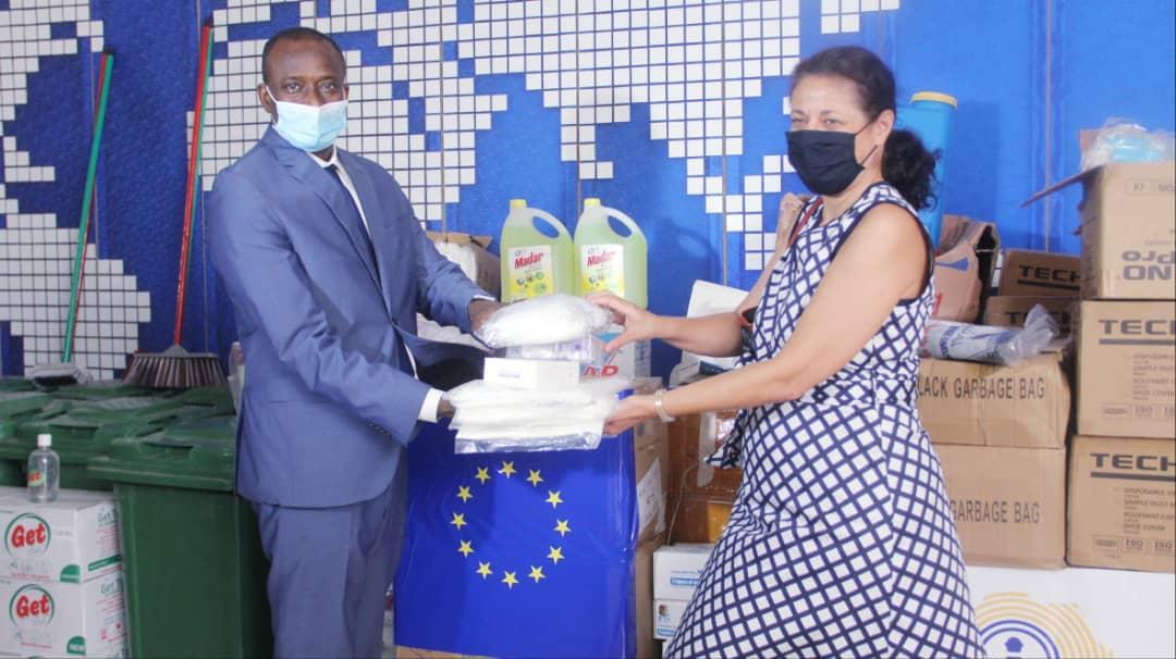 Riposte contre la Covid-19: Le Port Autonome de Dakar reçoit du matériel sanitaire d'une valeur de 26 millions de l'Union Européenne