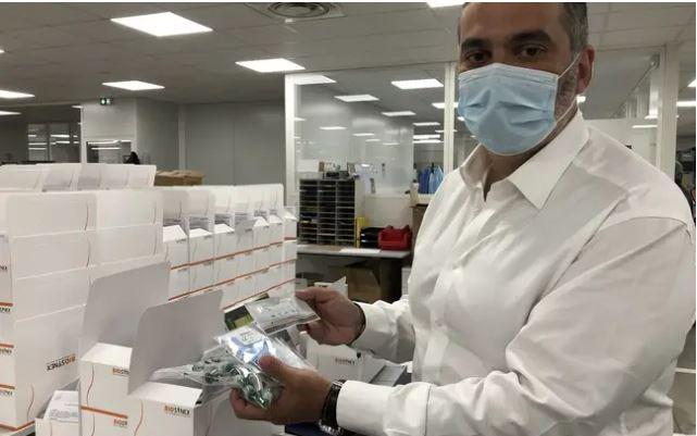 Strasbourg : Un laboratoire espère bientôt proposer en pharmacie des autotests sur le Covid-19