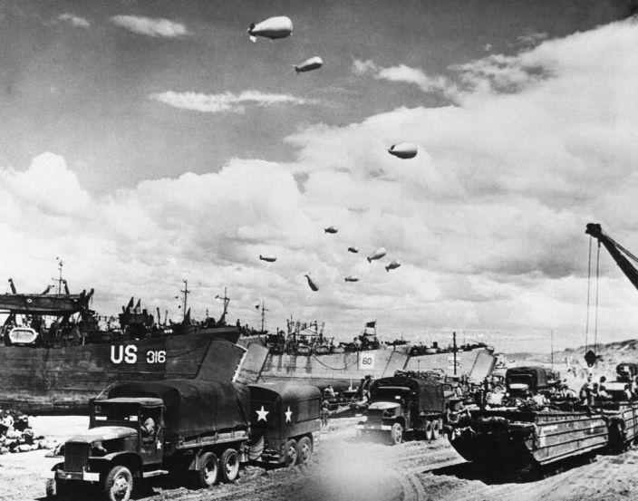 76 ans après, le débarquement du 6 juin 1944 raconté en 10 Photos