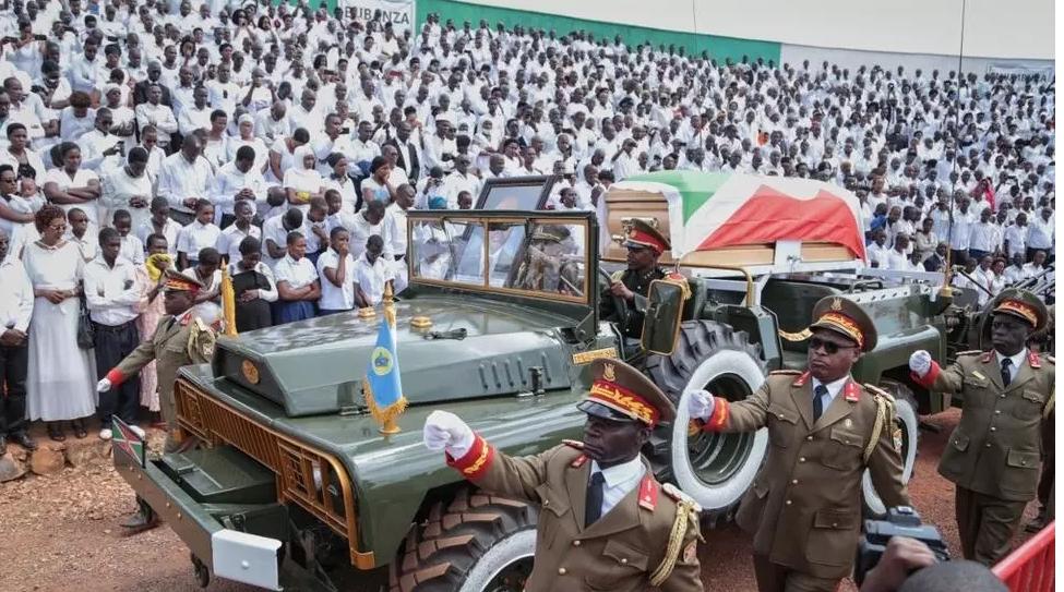 Le Burundi enterre son ancien président Pierre Nkurunziza