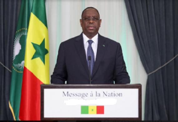 Levée de l'état d'urgence, réouverture des frontières aériennes, mesures économique…: l'intégralité du message du Président Macky  Sall