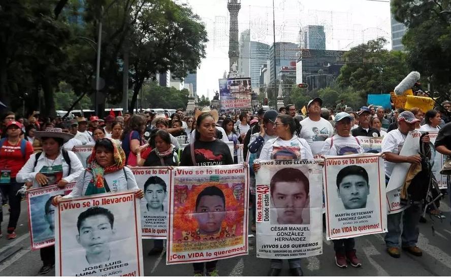 Étudiants mexicains disparus à Iguala: un corps formellement identifié, six ans après