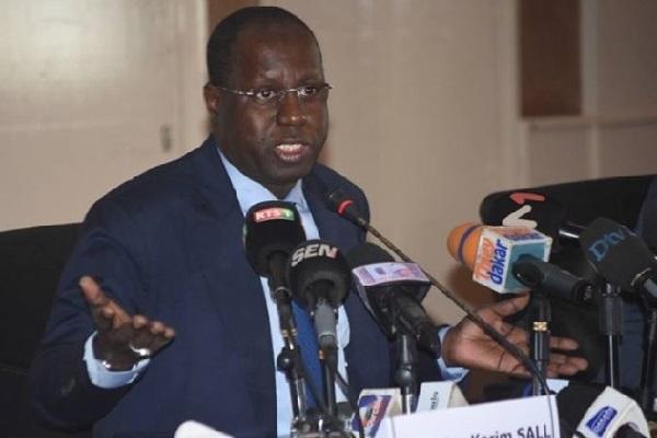 Abdou Karim Sall, le ministre de l'Environnement, très critiqué: apparemment, ça ne gaze pas avec ses gazelles…