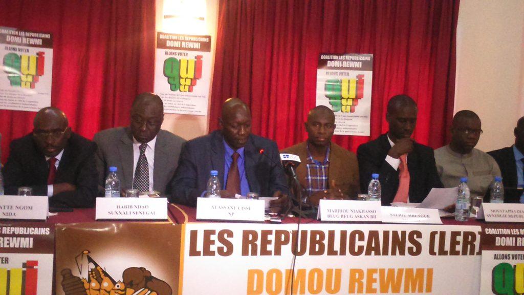 Coalition Les Républicains « Doomi Rewmi »: « La levée de l'état d'urgence et du couvre-feu est un pari sur la vie et l'économie »