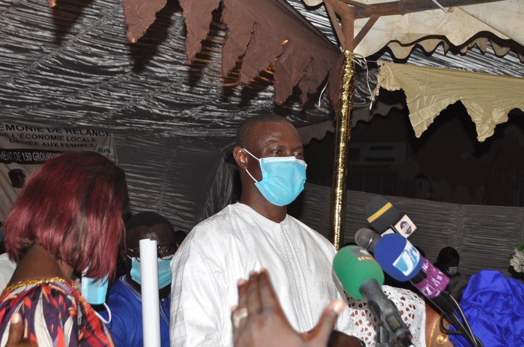 Relance des activités économiques: Pape Gorgui Ndong plébiscité par les femmes de Pikine