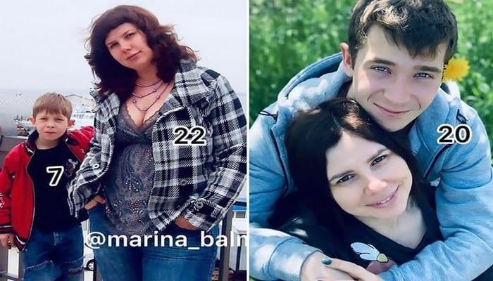 Russie: A 35 ans, elle épouse son beau-fils de 20 ans, après avoir divorcé d'avec le père (Vidéo)