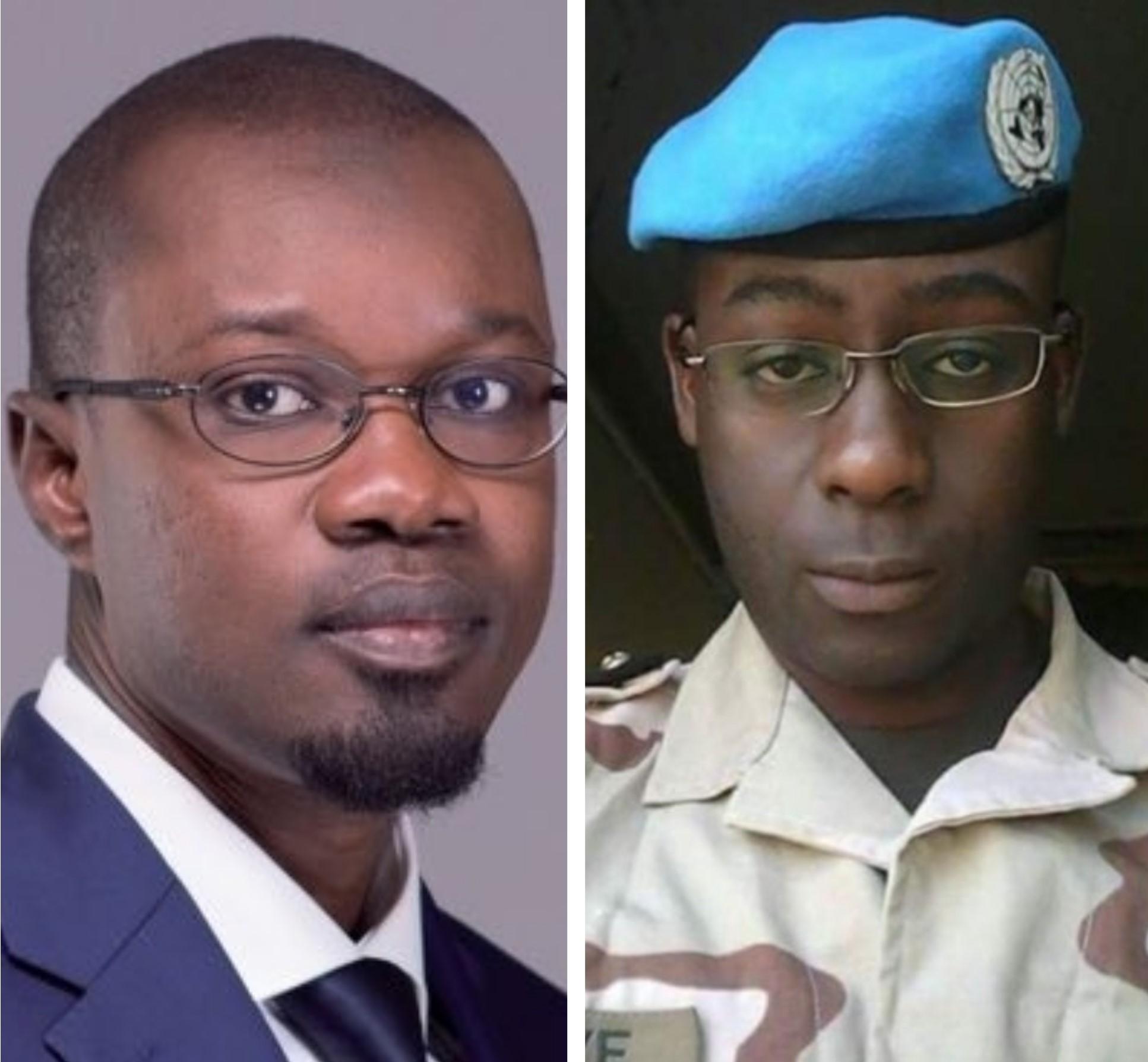 """Ousmane Sonko-Capitaine Dièye: Qui """"tuera"""" l'autre ?"""