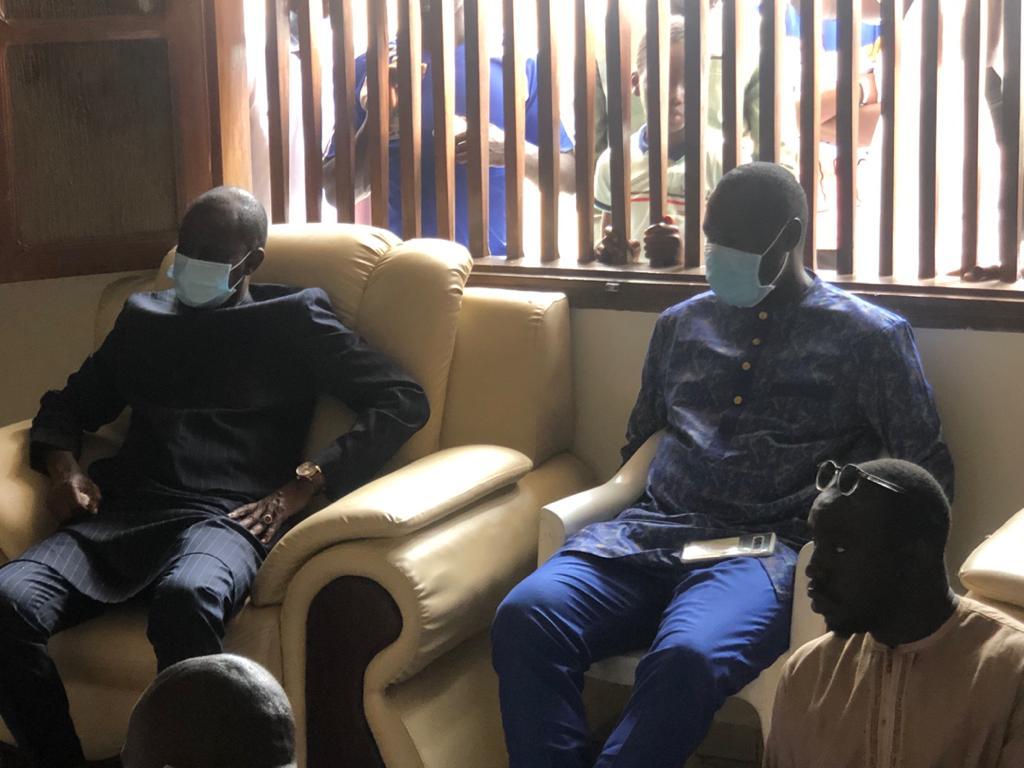 Condoléances: Matar Bâ, Cheikh Seck et El Hadji O. Diouf chez Moussa Ndiaye