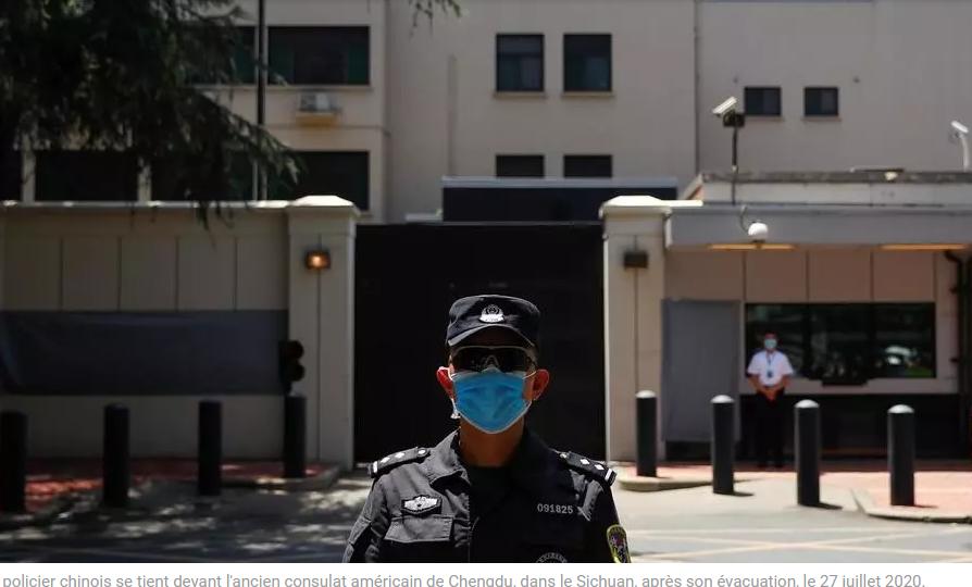 La Chine reprend possession du consulat américain à Chengdu