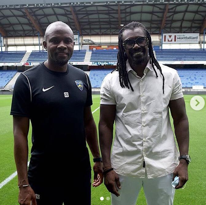 FC Sochaux: Aliou Cissé rend visite à Omar Daf