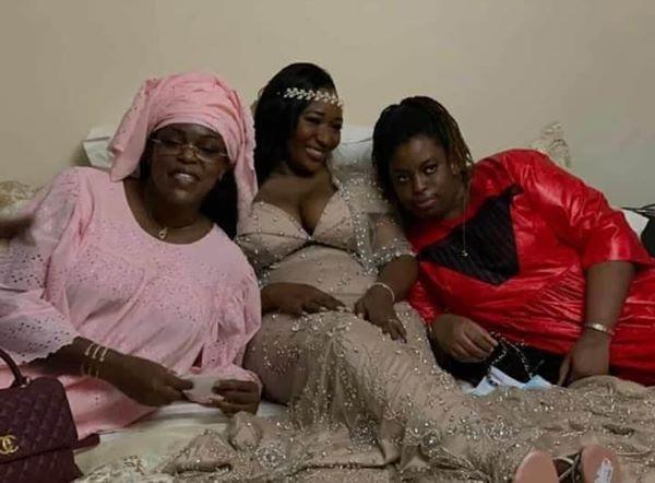 Marième Faye Sall et sa fille au mariage de la fille de l'ancien ministre Ousmane Masseck Ndiaye (Photos)