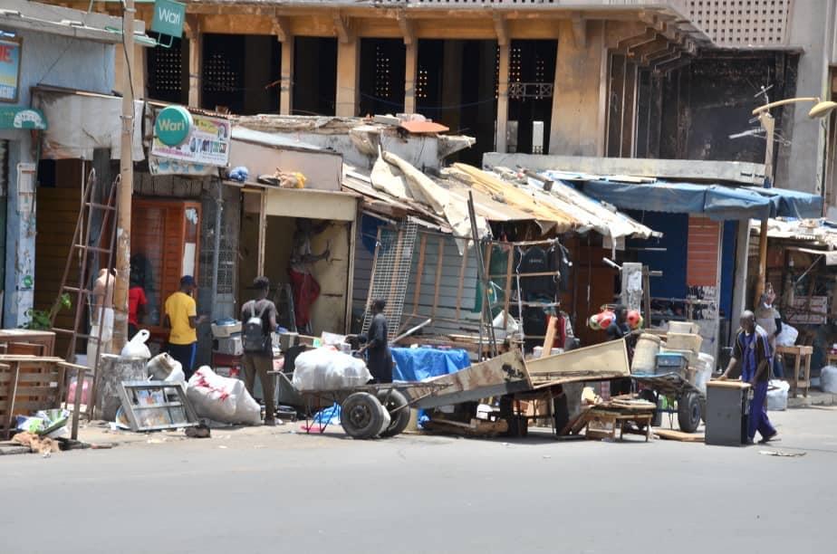 Démolition d'une partie du marché Sandaga: 325 commerçants sur les 383 comptabilisés, vont rejoindre le site de recasement
