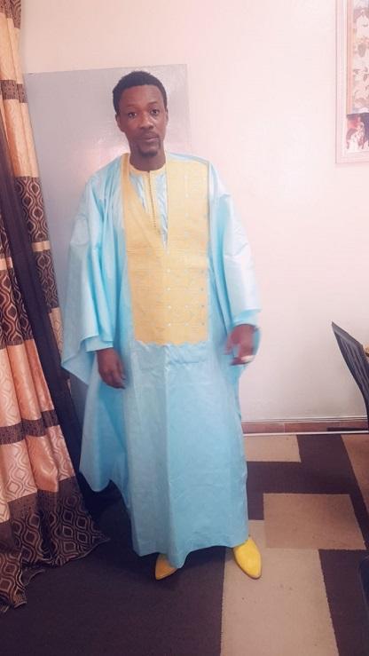 Tabaski 2020: Tange Tandian, administrateur de vipinfos.net et sa fille aînée