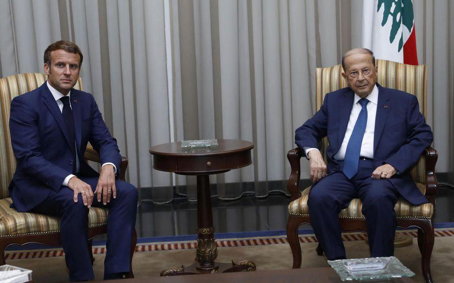Explosions au Liban : le président Michel Aoun évoque l'hypothèse d'«un missile»