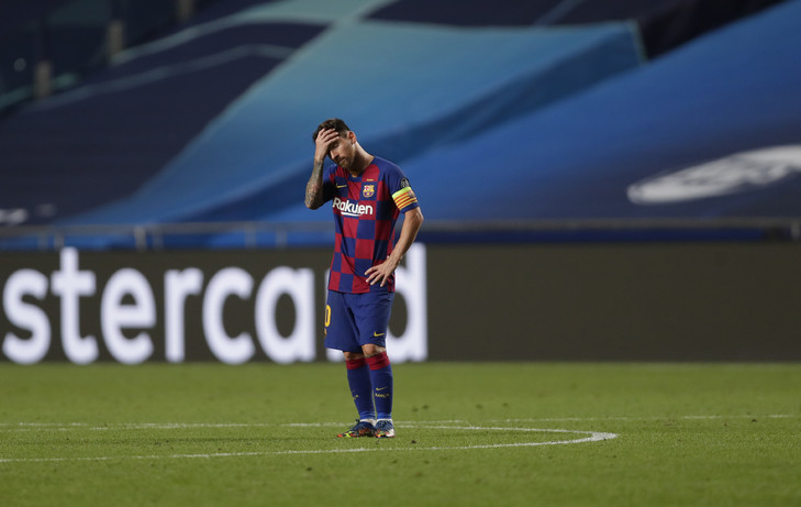Humiliation face au Bayern - Setien en passe d'être limogé, Messi et Piqué menacent de quitter Barcelone si...