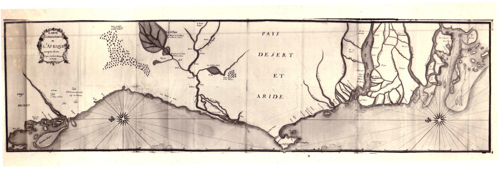 Le Sénégal en 1729