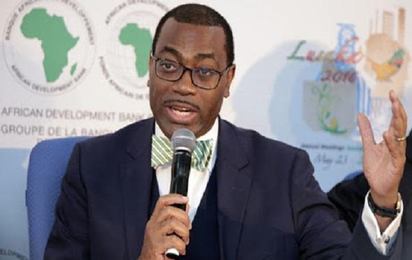 Finance : le Dr Akinwumi Adesina réélu, ce jeudi, Président du Groupe de la Banque africaine de développement