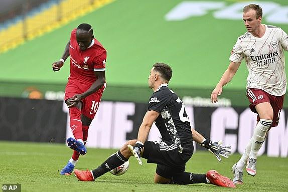 Vidéo - Community Shield - Sadio Mané perd le premier trophée de la saison