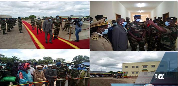 Fatick: Un  nouveau camp militaire inauguré à Nemanding par Me Sidiki Kaba