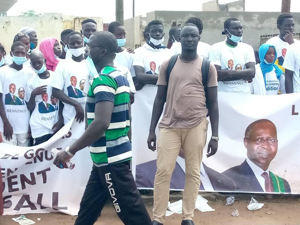 PHOTOS - Tous les leaders de Gossas se sont rendus à Fatick pour accueillir Macky Sall