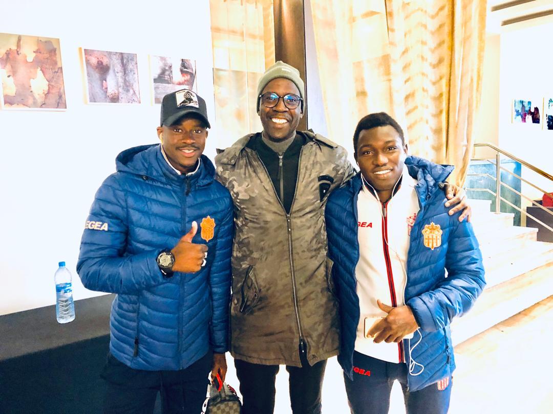 Bakary, Mady Cissokho et Malick