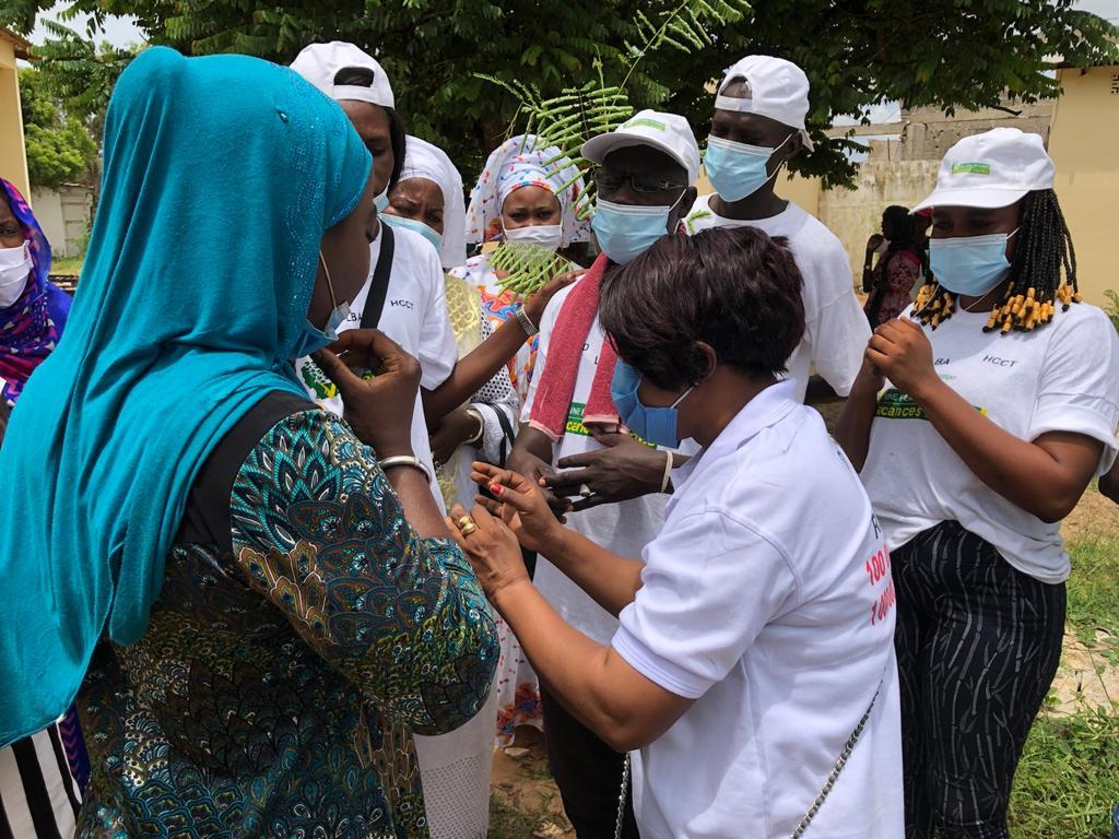 Reboisement national: Frass de Sangalkam répond à l'appel du chef de l'Etat, en plantant 500 arbres