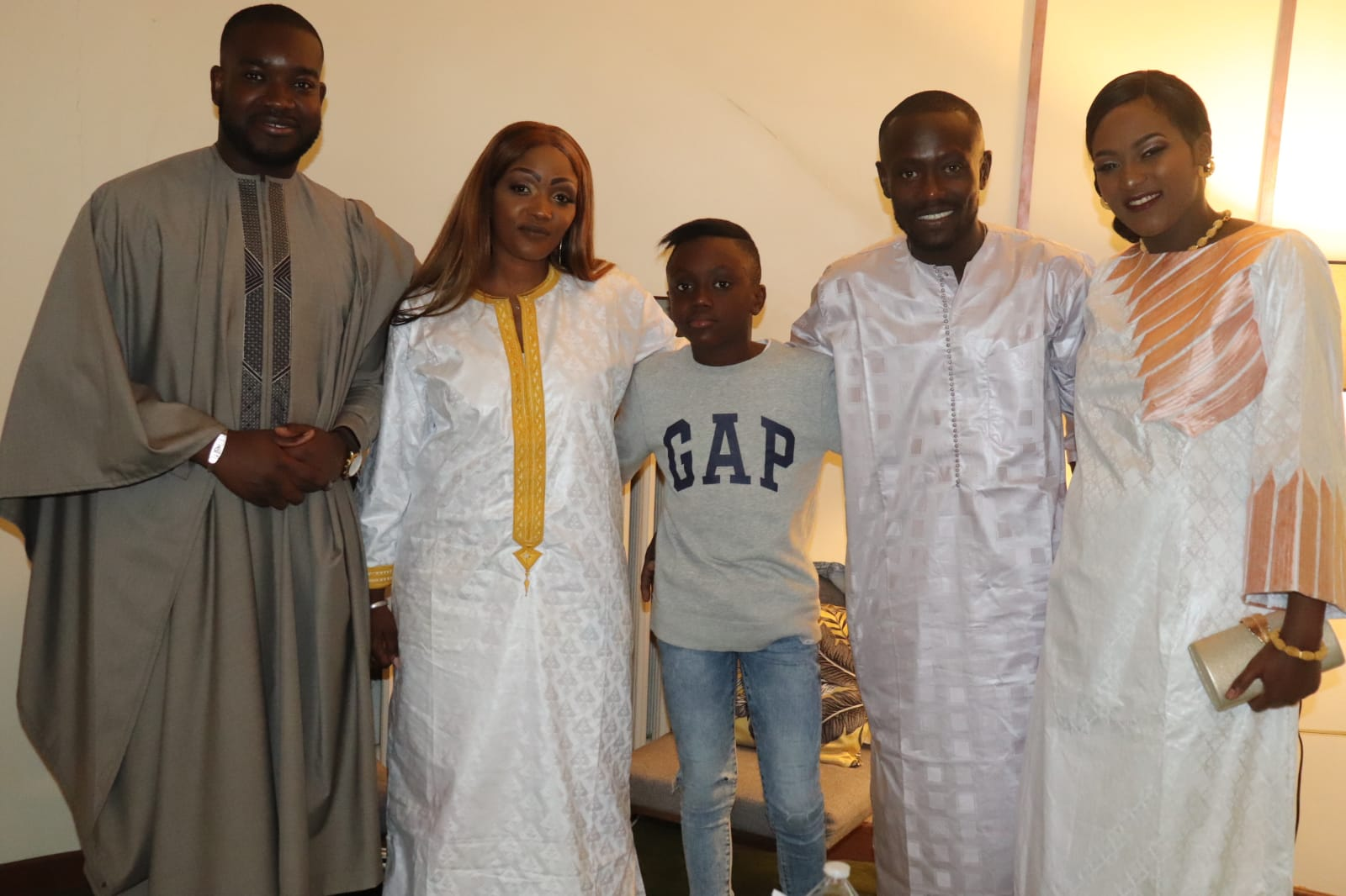 Voici les images du Baptême du petit fils de l'ancien Président de la Fédération d'athlétisme Momar Mbaye!