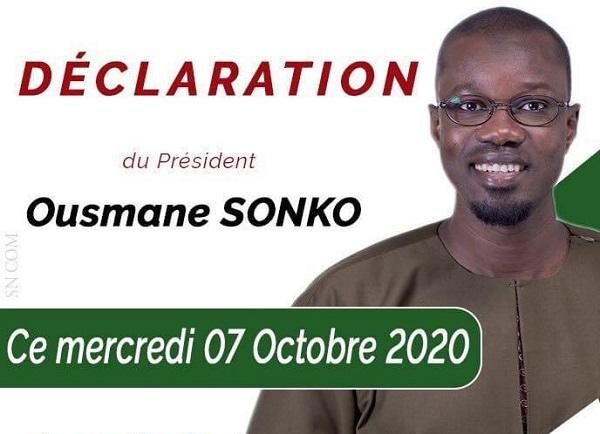 Audio de Sonko: Le leader du Pastef démonte pièce par pièce, l'histoire de la bande audio, un piège qu'il avait tendu à Mansour Faye