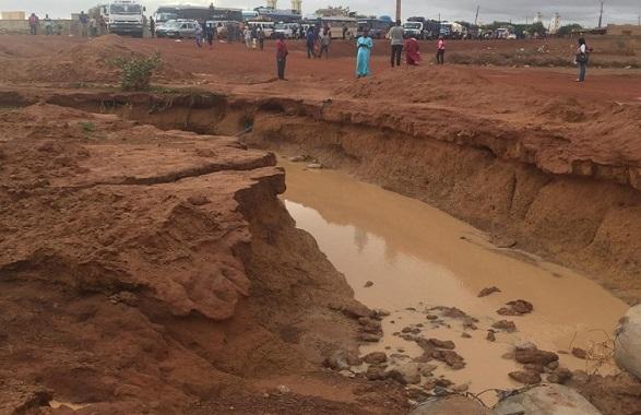 Dégâts combinés pluies et crues du fleuve Sénégal: Plusieurs villages du Fouta sinistrés et coupés du reste du monde