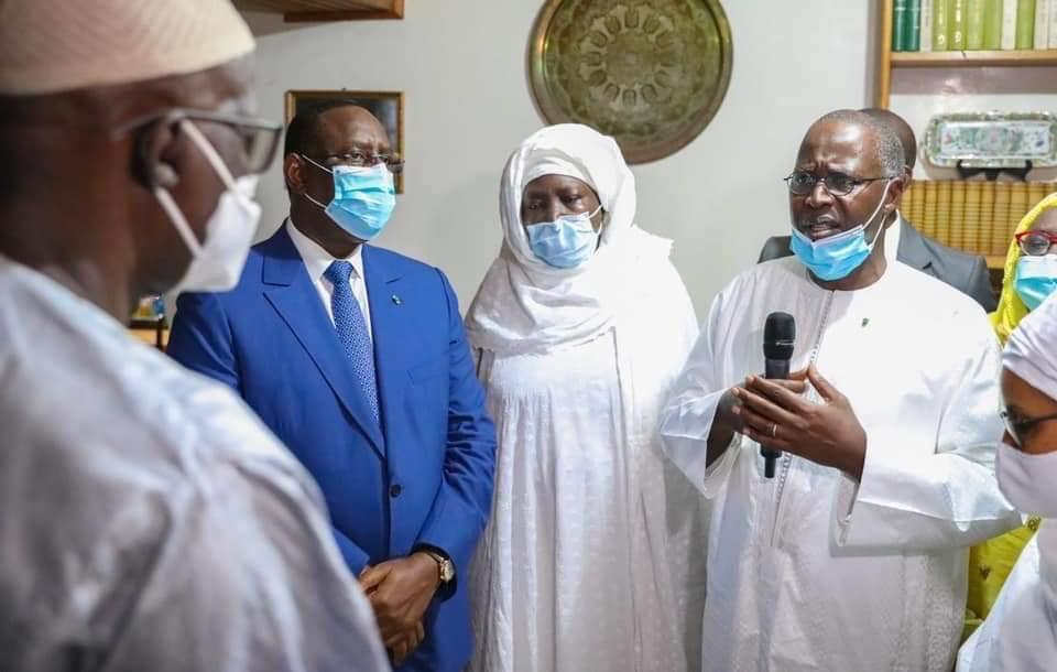 En fin de mission aux côtés du Président Macky Sall: Mahammed Boun Abdallah Dionne lui réaffirme son engagement et sa loyauté