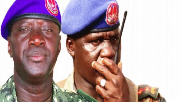 Les Généraux gambiens Umpa Mendy et Ansumana Tamba radiés
