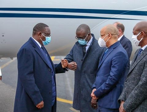 Forum de Paris sur la Paix : les images de l'arrivée du Président Macky Sall à cette rencontre internationale