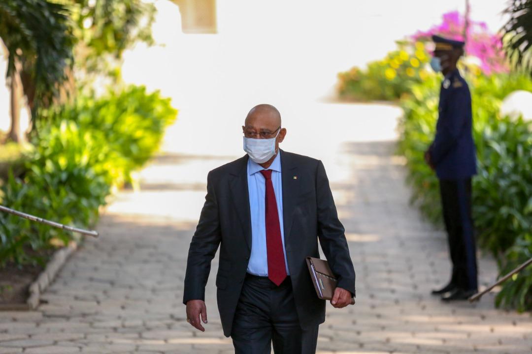 (PHOTOS): Mahmoud Saleh, Ministre d'État, Directeur de Cabinet du président de la République