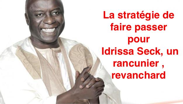 CESE/ Attaqué, caricaturé, calomnié…: Idrissa Seck, en républicain souhaiterait inscrire son action dans le temps