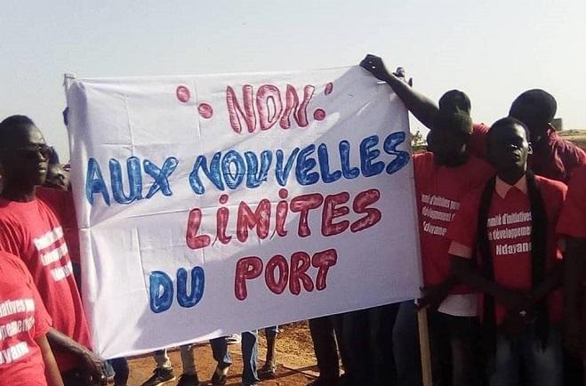 Futur Port de Ndayane : Le collectif des habitants alerte sur les risques