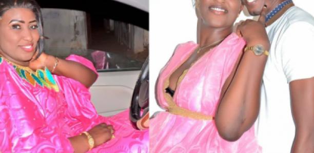 "L'actrice de ""Sama woudiou Toubab leu"" et son mari en toute complicité (Photos)"