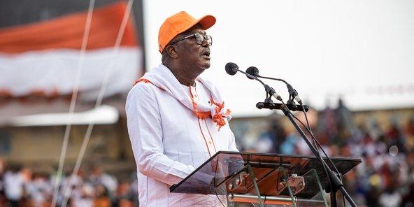 Burkina Faso : Roch Marc Christian Kaboré réélu pour un second mandat, selon la Ceni
