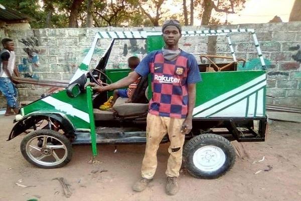 Invention-construction automobile: A la découverte d'un véhicule made in Fouladou, fabriqué à Dabo