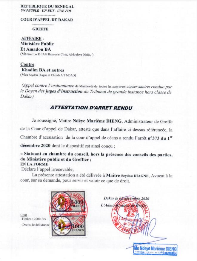 Manipulé par Me Diop, Amadou Bâ échoue de nouveau à faire emprisonner sa femme et ses quatre enfants