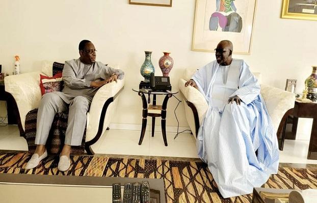 Macky Sall et Cissé Lô se concertent: Mille questions autour d'une image…