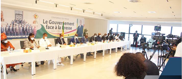 Conférence du gouvernement:  Trois ministres face à la presse jeudi