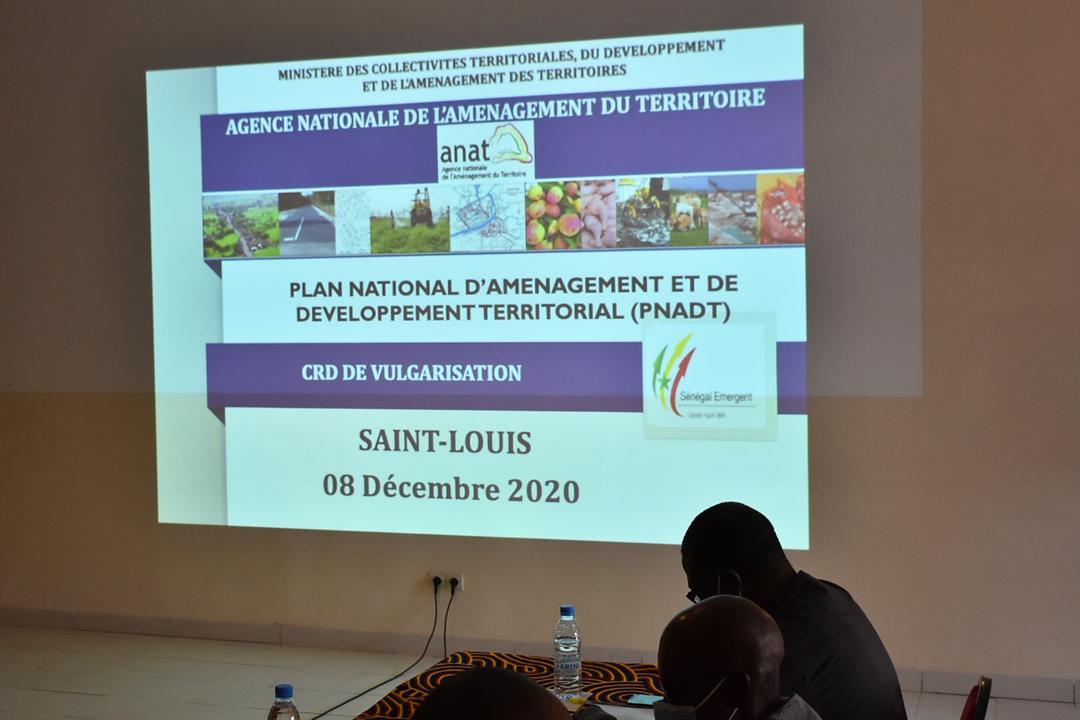 SAINT- LOUIS: CAMPAGNE DE VULGARISATION DU PNADT AVEC LE MINISTRE OUMAR GUEYE