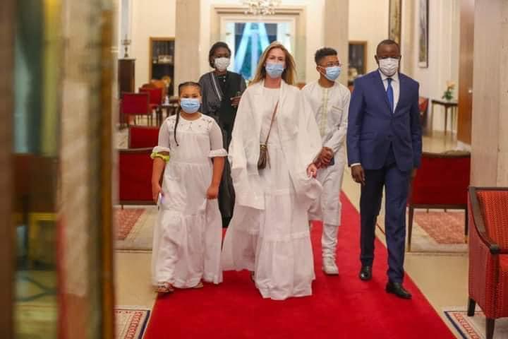 Audience - En images, la famille de Papa Bouba Diop reçue par Macky Sall